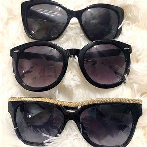 Black on black Sunglasses